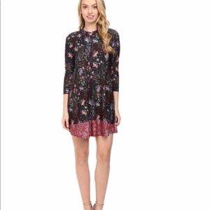 Catherine Malandrino floral urchin swing dress XL